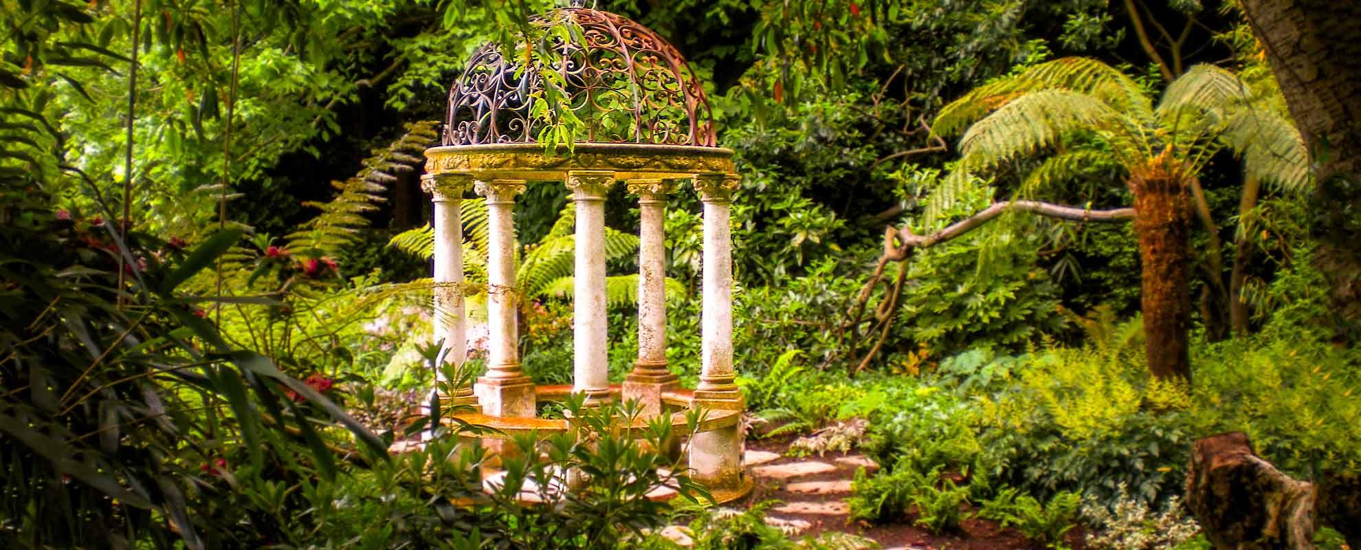 Older Gardens, the temple garden in south county dublin ireland